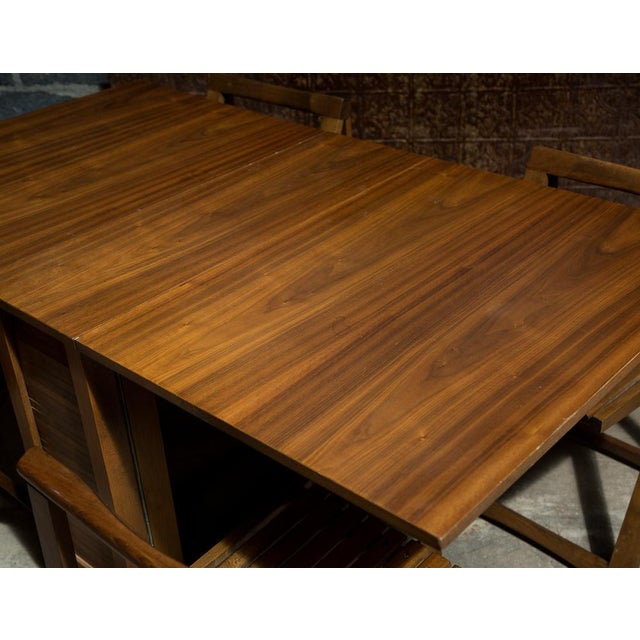 Drop Leaf Veneer Dining Set - Image 10 of 11