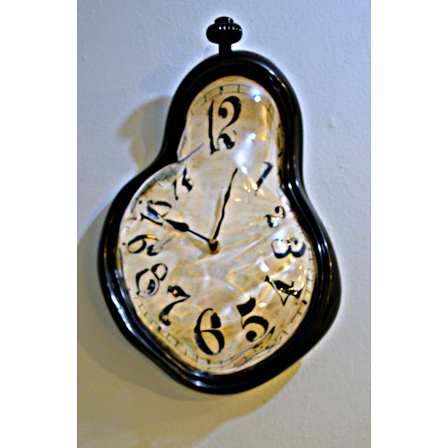 Dali Inspired Melting Wall Clock Chairish
