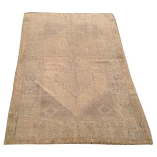 "Vintage Anatolian Rug - 3'11"" x 5'10"" For Sale"