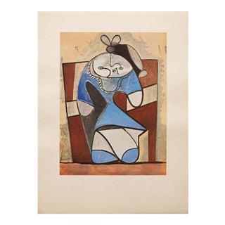 "1947 Picasso, ""La Fille De La Concierge"" Original Period Parisian Lithograph For Sale"