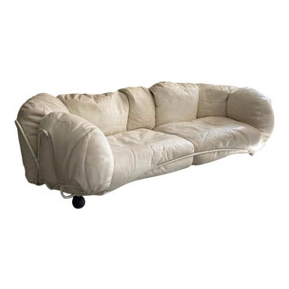 "Italian Post Modern ""Corbielle"" Sofa by Francesco Binfarè for Edra For Sale"