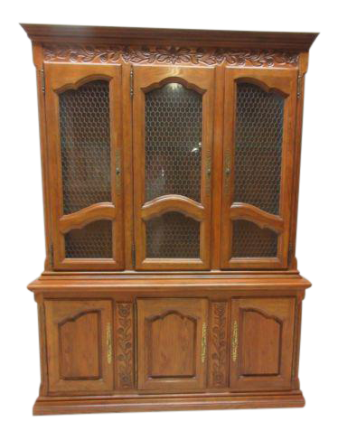 Hickory Co. Country French China Cabinet