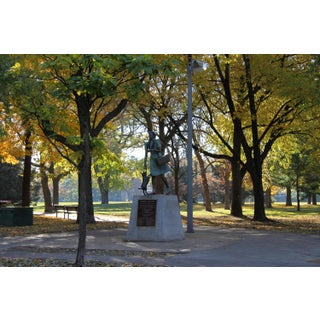 Oz Park Fall Photograph by Josh Moulton For Sale