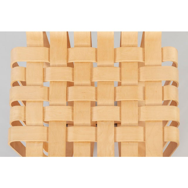 1990s Set of Six Frank Gehry High Sticking Chairs For Sale - Image 5 of 13