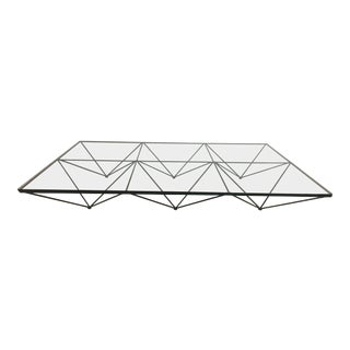 "Large Paolo Piva ""Alanda"" Coffee Table for B&b Italia (6 Squares) For Sale"
