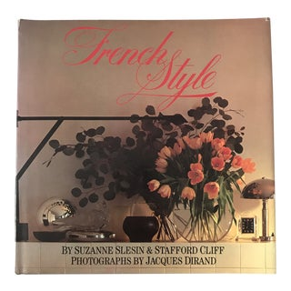 """1982 """"French Style"""" First Edition Design Book For Sale"""