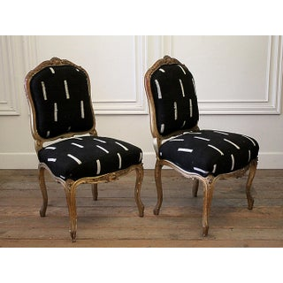 Late 19th Century Giltwood Louis XV Style French Chairs- A Pair Preview