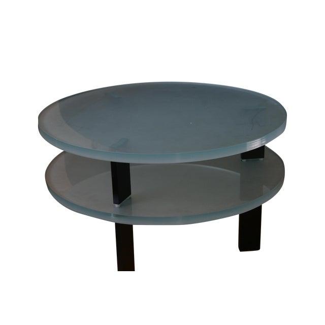 Glass Saporiti Italia End Tables - Image 1 of 4