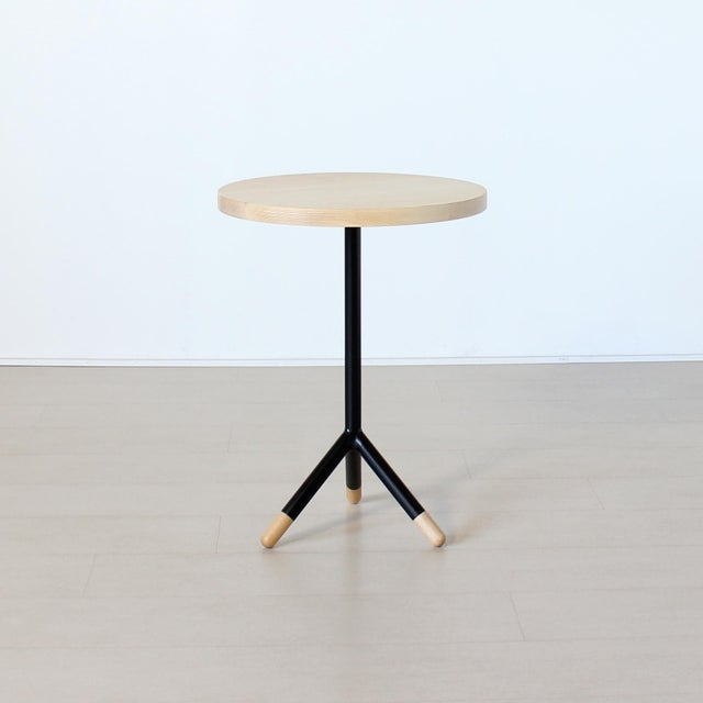 Bauhaus Walcott Accent and Side Table For Sale - Image 3 of 3