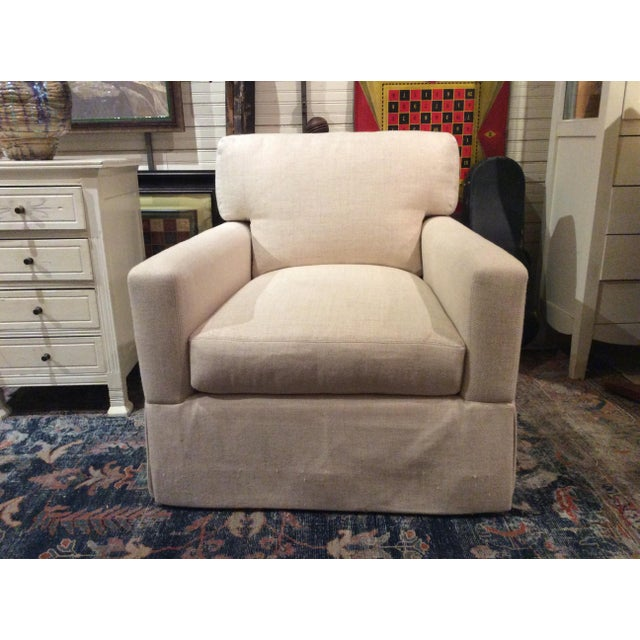 Lee Industries Swivel Chair Item # 5381-01sw For Sale In Washington DC - Image 6 of 6