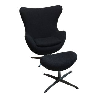 Mid Century Modern Egg Chair - Designed by Arne Jacobsen in 1958 For Sale