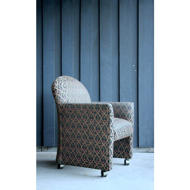 1980s Contemporary Armchairs, Set of 4 For Sale - Image 10 of 13
