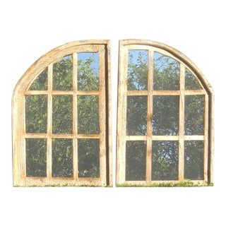 Rustic Farmhouse Mirrors - A Pair For Sale