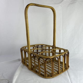 French Bamboo Wine Carrier Preview