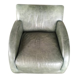"""Vladimir Kagan for American Leather"""" Rock Star"""" Modern Leather Rocking Chair For Sale"""