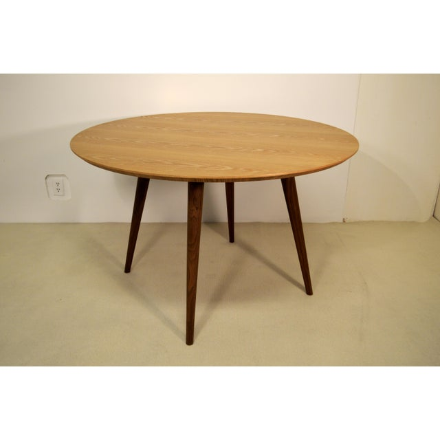 Wood Dining Table - Image 2 of 4