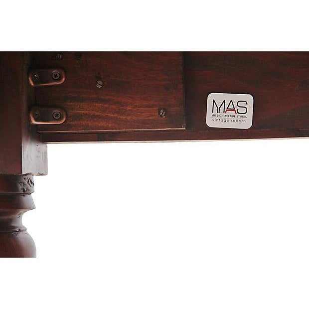 Regency Mahogany Dining Table For Sale - Image 5 of 5
