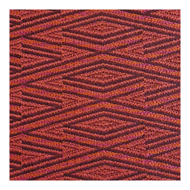 Pierre Frey Lagos Pasteque Woven Designer Fabric by the Yard For Sale
