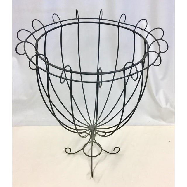 Vintage Wire Planter Topiary - Image 2 of 7