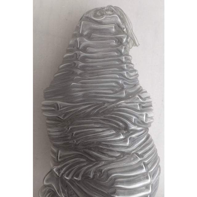 Gray Large Mid Century Abstract Free Form Sculpture For Sale - Image 8 of 13
