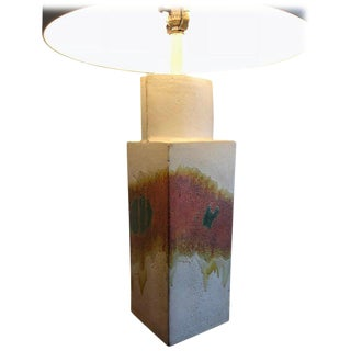 Marcello Fantoni Ceramic Table Lamp For Sale