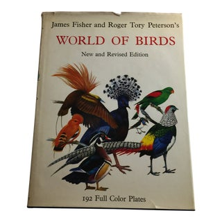 1977 World of Birds Roger Tory Peterson Book For Sale
