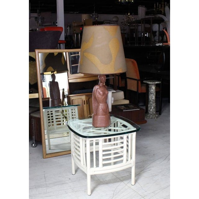 Mid-Century Modern Signed Nude Sculpture Table Lamp For Sale - Image 3 of 8