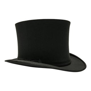 1940s Mid-Century Modern Collapsable Top Hat For Sale