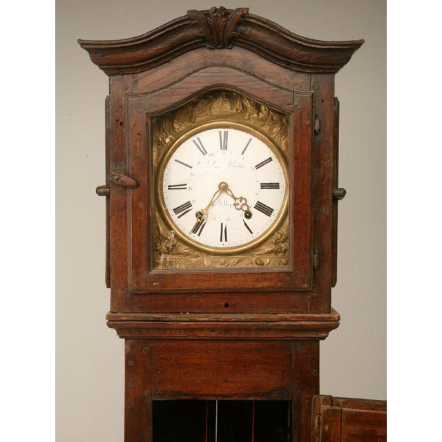 Country C1820 French Antique Tall Case Clock For Sale - Image 3 of 10