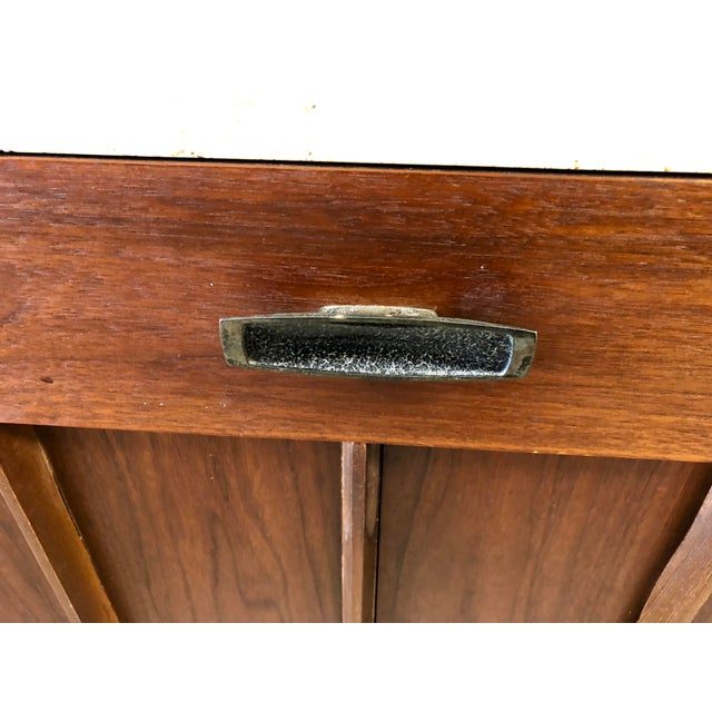 Mid-Century Modern American of Martinsville Italian Soapstone Credenza For Sale - Image 9 of 10
