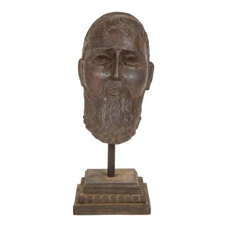 Greek Style Head Carving