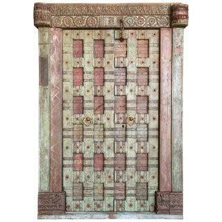 Mid 19th Century Vintage Teak Wooden Doors For Sale