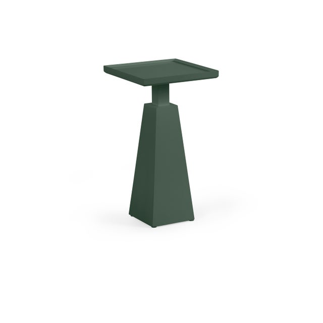 Transitional Casa Cosima Hayes Spot Table, Dakota Shadow For Sale - Image 3 of 3