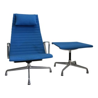 Eames Aluminum Collection Chair & Ottoman