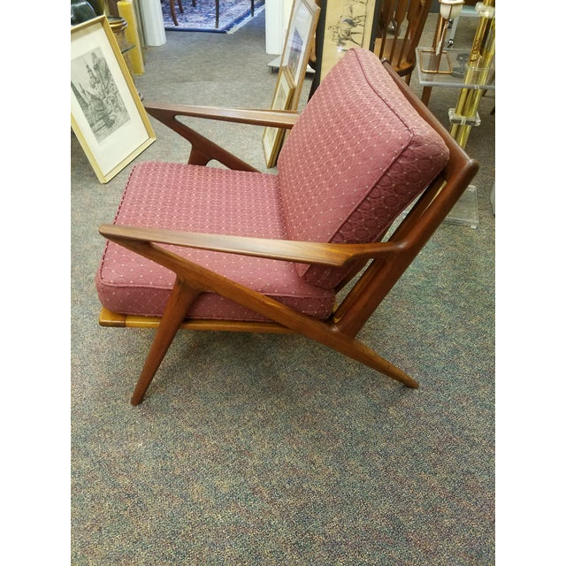 Poul Selig Mid-Century Modern Z Lounge Chair - Image 3 of 9