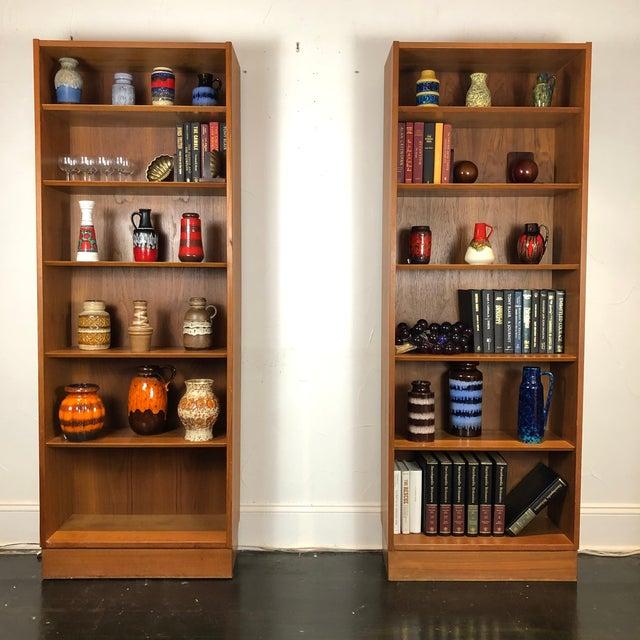 Modern Poul Hundevad Danish Teak Bookcases - a Pair For Sale - Image 3 of 13