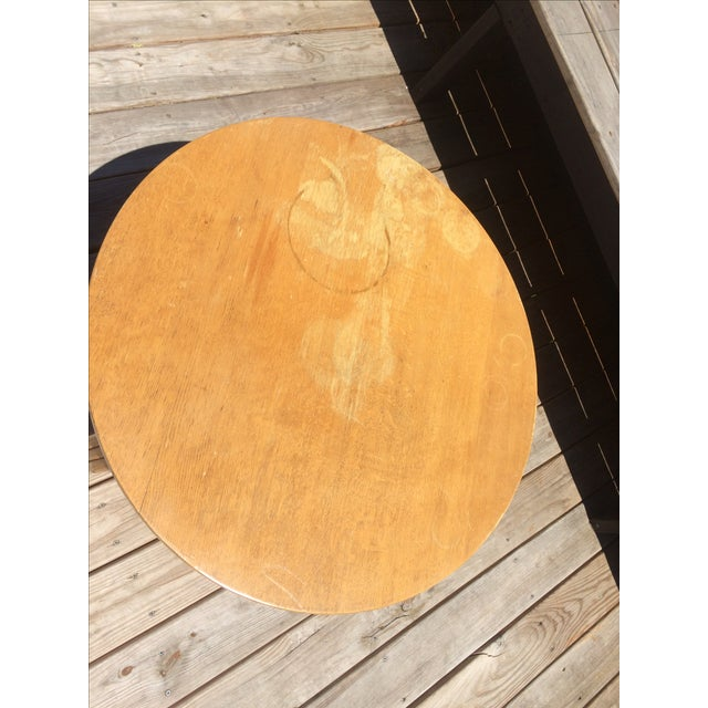 Mid-Century Rattan Coffee Table - Image 3 of 3