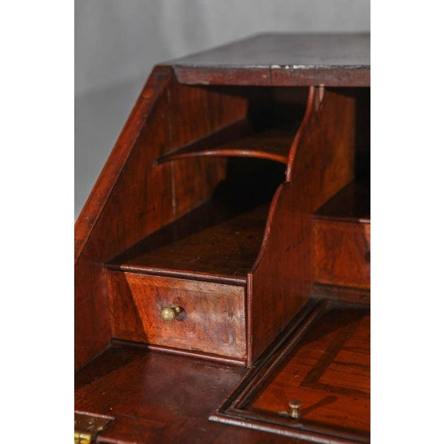 Animal Skin George II Bureau or Slant Front Desk For Sale - Image 7 of 8