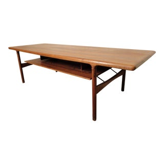 Rare Mid-Century Extending Rosewood Coffee Table