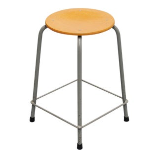 1970s Industrial Stool by Ahrend De Cirkel For Sale