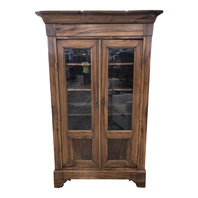 19th Century French Louis Philippe Bibliotheque For Sale
