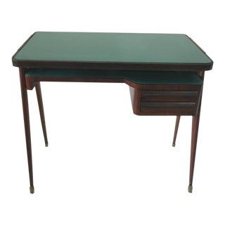 Petite Rosewood Desk in Style of Paolo Buffa For Sale