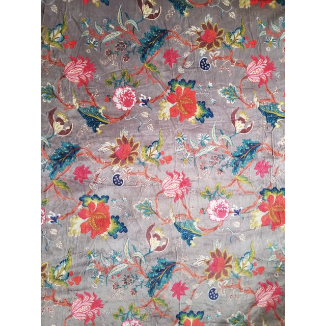 2010s 3 Yards Cotton Velvet for Pillows Drapes Uphostery For Sale - Image 5 of 5