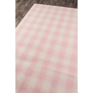 Erin Gates Marlborough Charles Pink Hand Woven Wool Area Rug 5' X 8' Preview