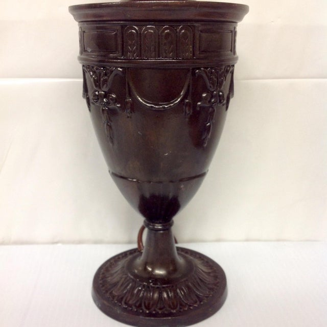 Early Grecian Urn Lamp by Moe Bridges For Sale - Image 4 of 6
