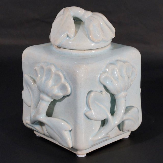 This listing is for a Wilhelm Kage for Gustavsberg shell & floral relief lidded box. Though best known as one of Sweden's...