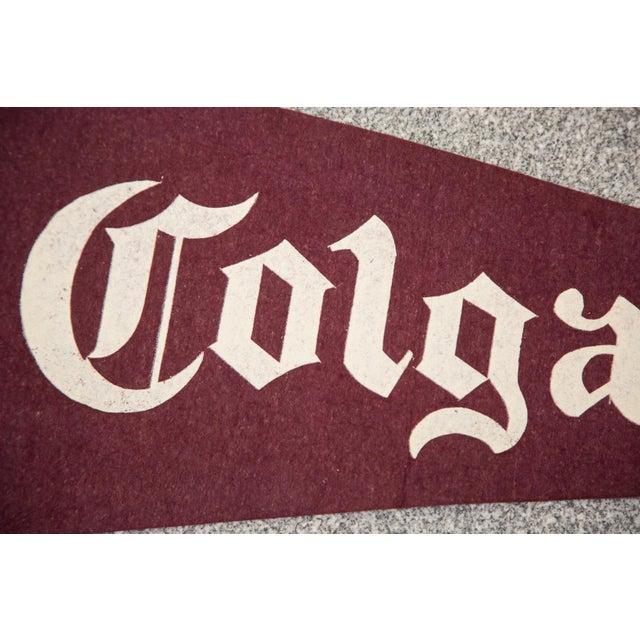 Vintage Colgate University Felt Flag - Image 2 of 3