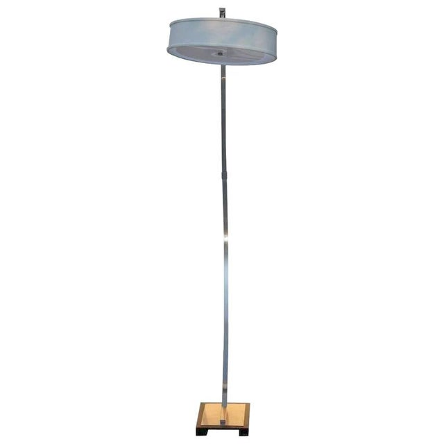 1980s Vintage Italian Freestanding Arcing Floor Lamp For Sale - Image 4 of 4