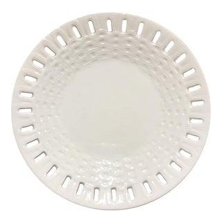 19th-c. Swedish Creamware Plate For Sale