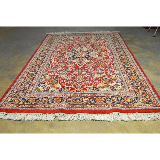 20th Century Isfahan Rug For Sale - Image 5 of 6